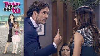 Marcelo descubre los engaños de Amaranta | Tenías que ser tú - Televisa