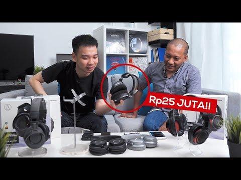 Headphone Rp200 Ribu Vs Rp2 Juta Vs Rp25 JUTA!!! Apa Bedanya??