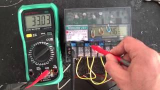 видео электросчетчик с пультом