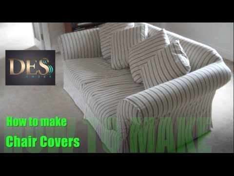 Merveilleux How To Make Chair Cover Of Arm Caps