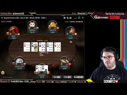 Poker Tournament Final Table Run HIGHLIGHTS HUGE Bounty Action!