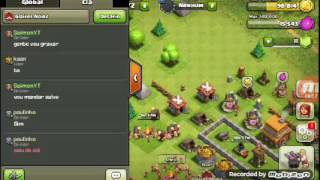 Clash of clans mandando salve