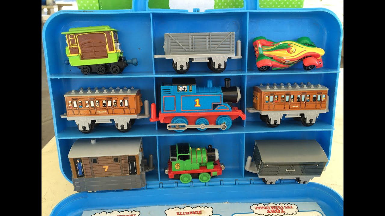 thomas and friends toy trains percy toby disney cars
