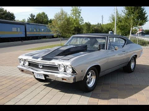 Big Block 427 4 Speed Chevelle In Car Footage