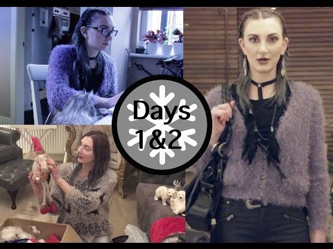 vlogmas day 1 & 2 - Aesthetic Contradiction