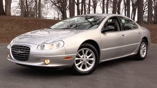 2001 Chrysler LHS Start Up, Road Test & In Depth Review
