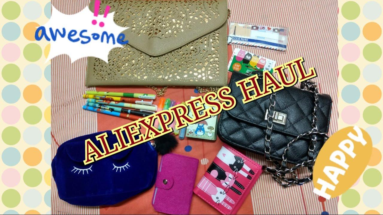 ALIEXPRESS Mini Haul | Bags | Stationery | shopaholic_leo_4u!
