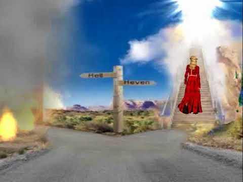 Tu pe care  cale  vrei  să mergi , spre rai  sau  iad ?