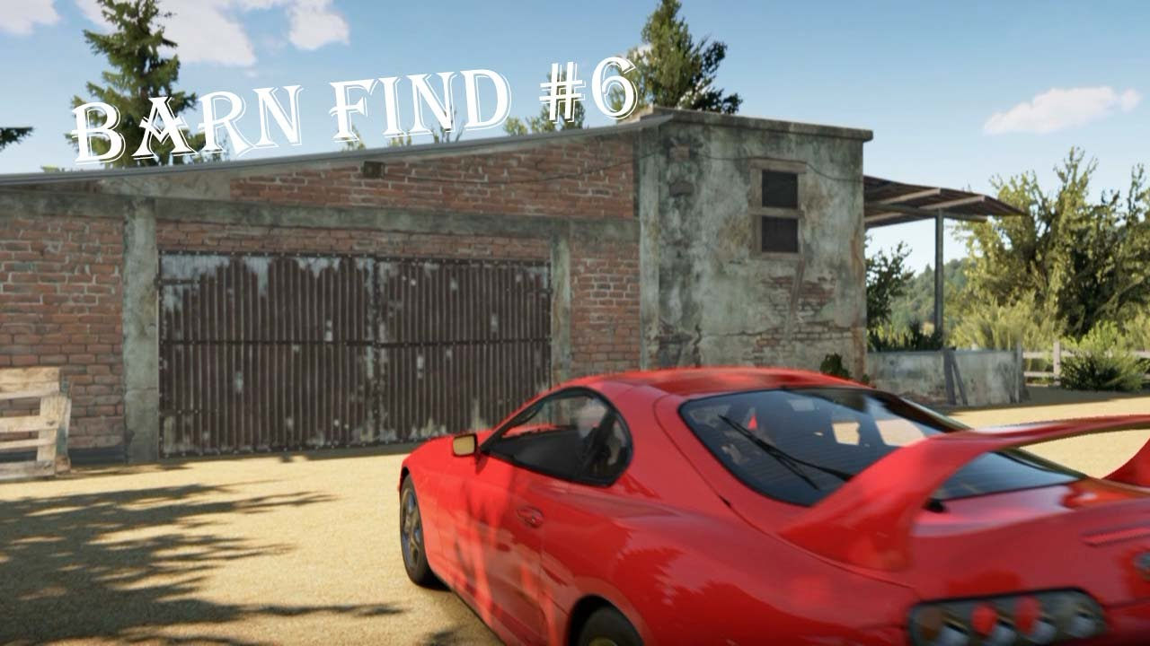 Italia Forza Horizon 2 Barn Find