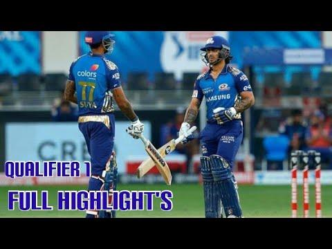 Vivo IPL 2020 Mumbai Indians vs Delhi Capitals First Qualifier Full Highlights 5 November | MI Vs DC
