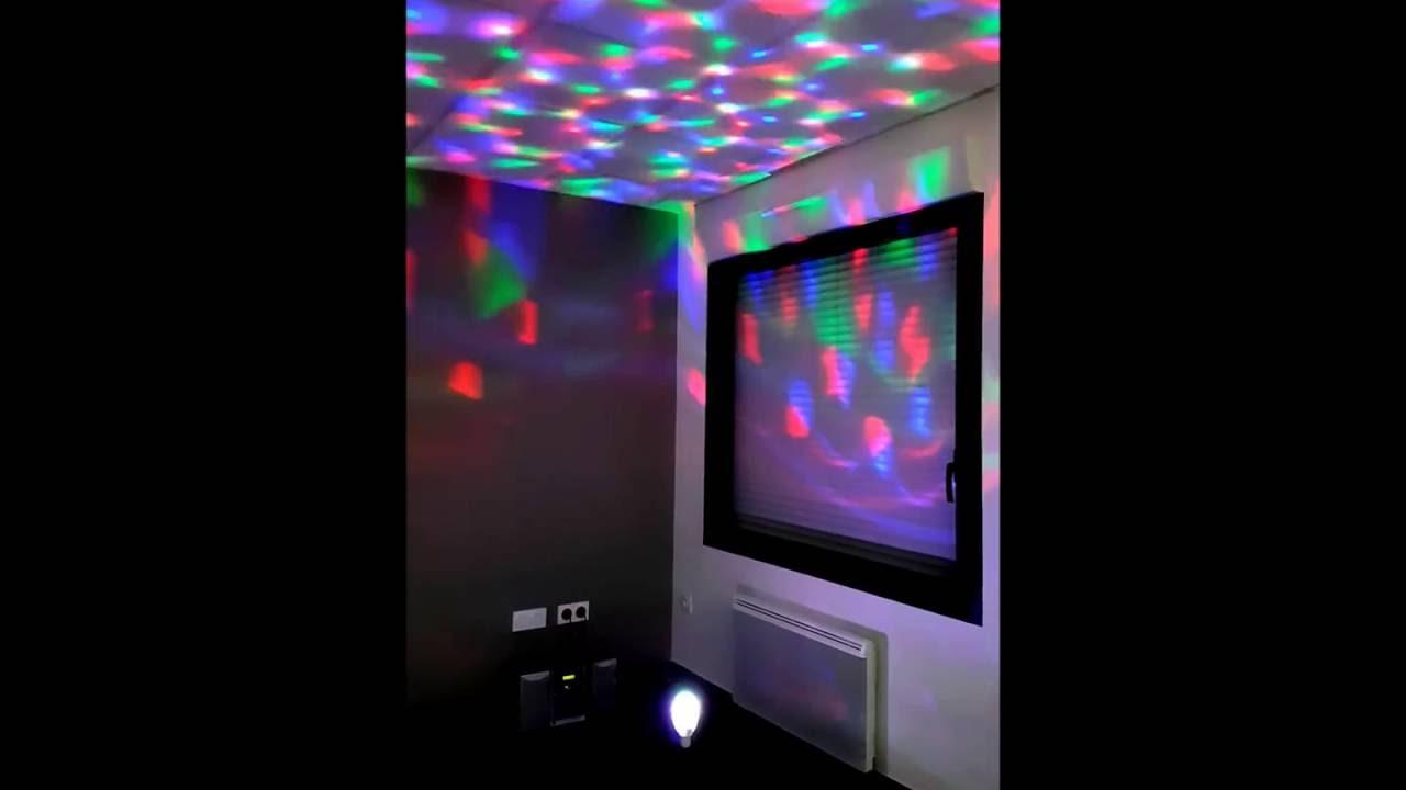Disco E27 45rla3jq Rotation Rgb Youtube Led Kaléidoscope Ampoule 1lcKFJ