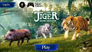 СИМУЛЯТОР ТИГРА ОНЛАЙН эпизод 2 - SIMULATOR TIGER ONLINE игровой мультик про животных ВИДЕО для дете