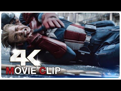 Full Captain America Vs Captain America Fight Scene - AVENGERS 4 ENDGAME (2019) Movie CLIP 4K