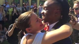 Willdabeast Adams proposing to Janelle Ginestra (full video) surprise birthday /engagement party