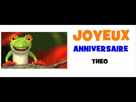 Joyeux Anniversaire Theo Youtube