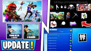 *NEW* 14 Days of Fortnite! | All Free Rewards, LTMS, Secret Skin, Challenges!