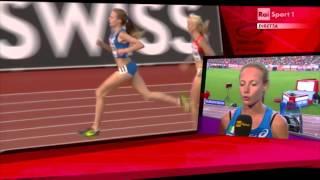 Campionati Europei di Zurigo - Finale 1500m Donne - Federica Del Buono 5^ 4'07''49 PB.