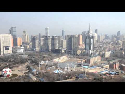 001 3 City Views of Dalian, China