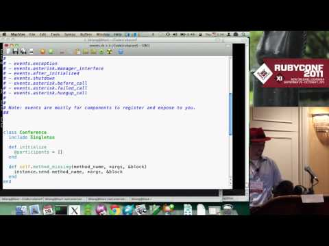 Evented Telephony Application Design with Adhearsion  (Ben Klang)