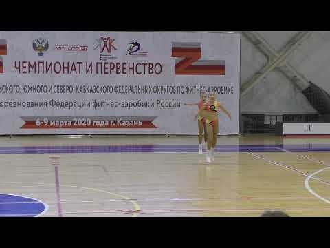 Пимонова Ирина, Ярошенко Варвара (финал). 08.03.2020
