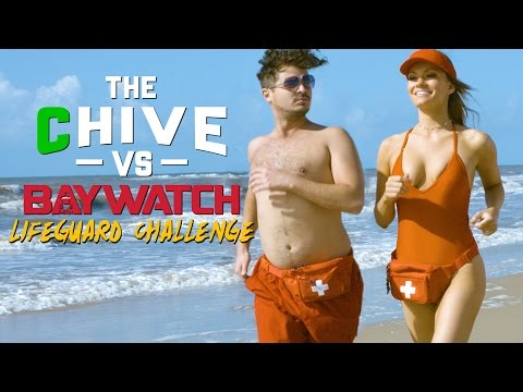 theCHIVE Vs. BAYWATCH LifeGuard Challenge