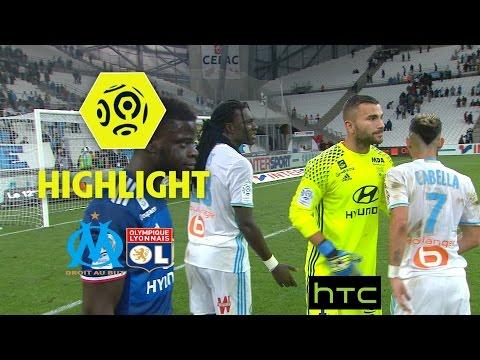 Olympique de Marseille - Olympique Lyonnais (0-0) - Highlights - (OM - OL) / 2016-17