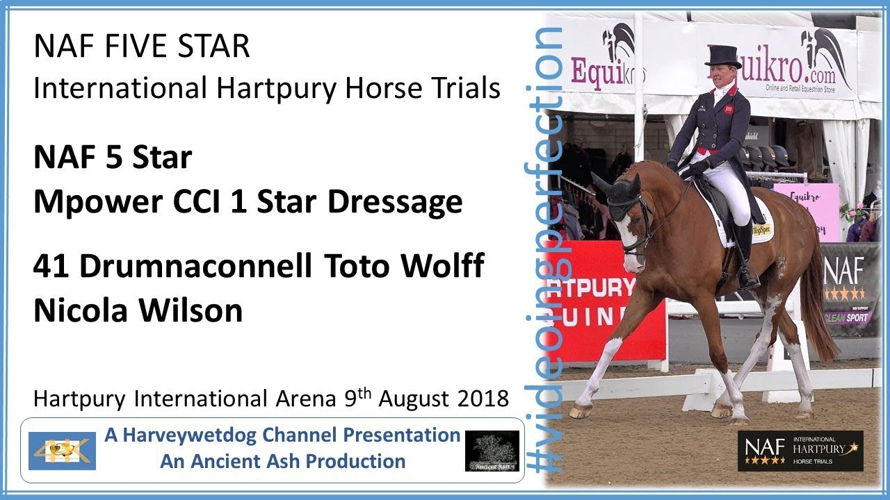 International Hartpury Horse Trials: Nicola Wilson & Drumnaconnell ...