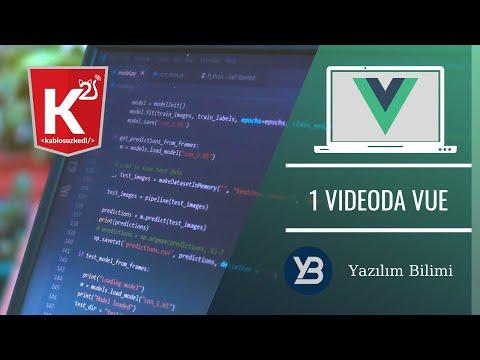 1 Videoda VUE - Gökhan Kandemir - KablosuzKedi
