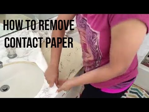 How To Remove Contact Paper Anika S, How To Remove Contact Paper From Wood Cabinets