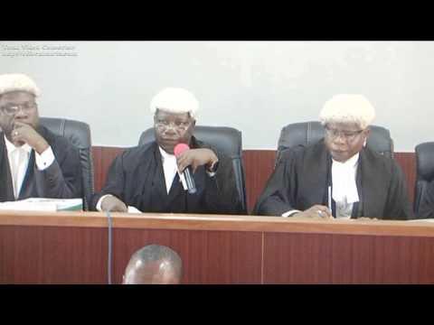 NICN Inaugural Court Sitting in Yenagoa, Bayelsa Division