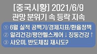 [중국시황] 2021/6/9 장중: 1)시황 분위기, …