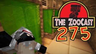 Minecraft Jurassic World (Jurassic Park) ZooCast - #275 Four Tylosaurus Eggs!