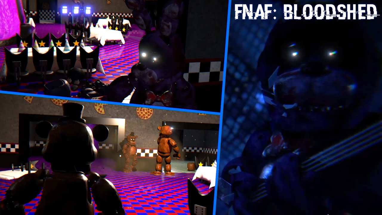 Five Nights at Freddy's: Bloodshed | Freddy And Friends Have A Civil War! [Part 3]