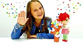 Поделки своими руками из бумаги. Земляничка делает подарок на день учителя. Видео для девочек(Детский творческий канал
