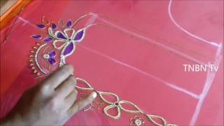 hand embroidery tutorial for beginners   mirror work embroidery designs embroidery stitches tutorial