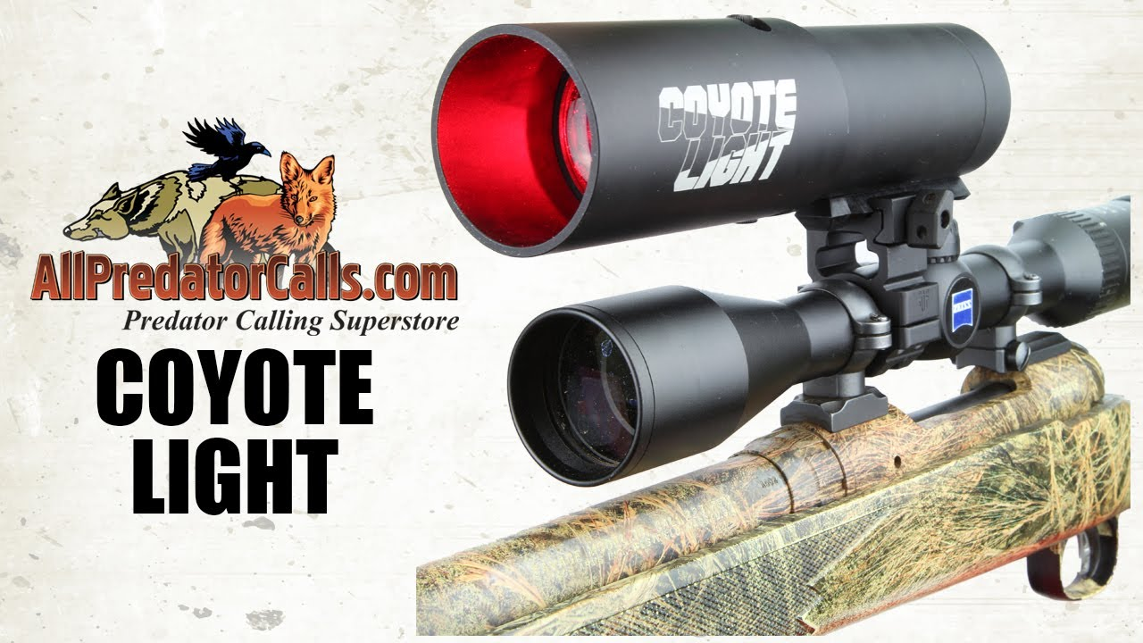 Coyote Light Night Hunting Light For Hogs And Predators