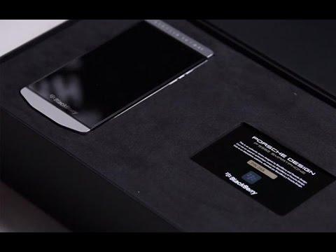 نظرة على الهاتف المحمول BlackBerry Porsche Design P'9982