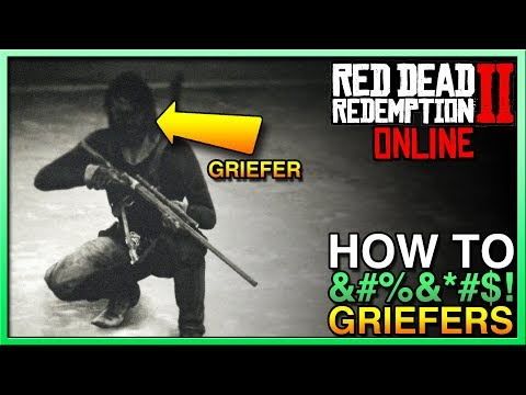 How To STOP GRIEFERS in Red Dead Redemption 2 Online! STOP RDR2 Online Griefers Now! RDR2 thumbnail