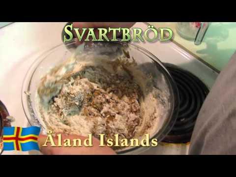 Worldly Treats with No Meats - Åland Islands - Svartbröd