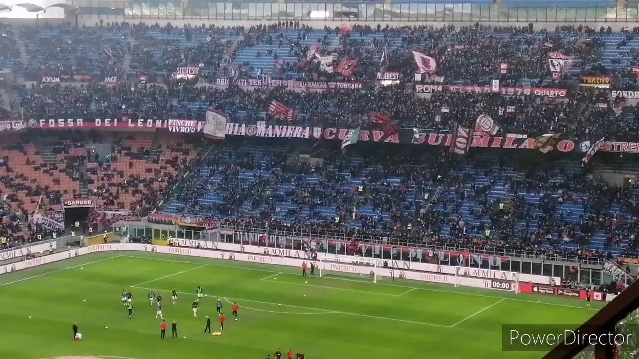 AC Milan 1:1 Hellas Verona-first half match highlights ...