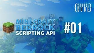 Minecraft Bedrock Scripting API Tutorial - Project Setup - #01