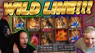WILD LINE!! Dead Or Alive BIG WIN - HUGE WIN from CasinoDaddy Live Stream