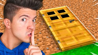 I Built a SECRET House on Noob1234's Server! *he had no idea*