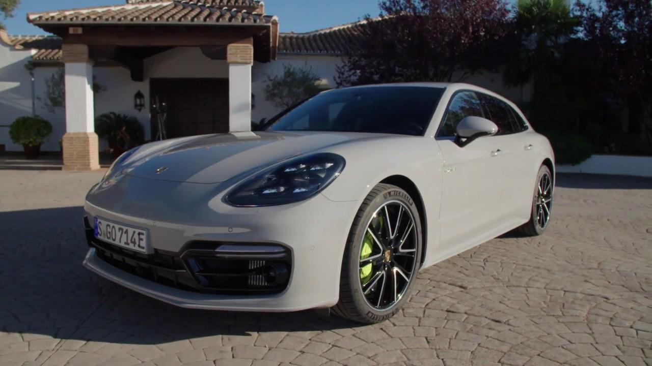 Porsche Panamera Turbo S E Hybrid Design In Crayon