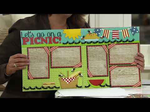 EZ Scrapbooks All Seasons Holiday 28 Piece Paper Collection on QVC