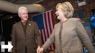 """""""We need you"""" says President Bill Clinton to volunteers 