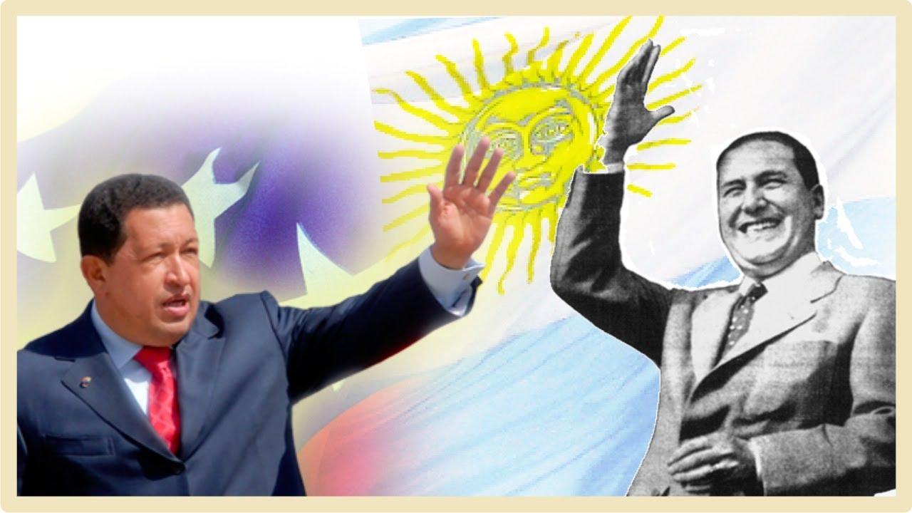 Chávez y Perón - YouTube