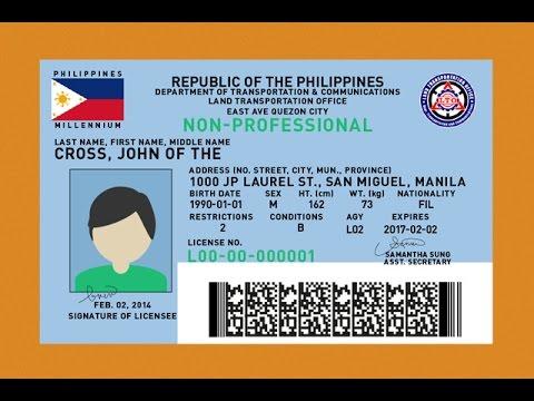 LTO magpapatupad ng bagong patakaran sa pag i-isyu ng drivers license