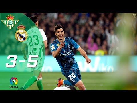 Betis 3-5 Real Madrid | Partido Completo Full Match | Liga 2017/2018