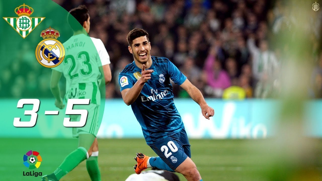 c86477406 Betis 3-5 Real Madrid | Partido Completo Full Match | Liga 2017/2018 ...